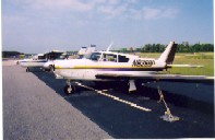 airplane at the Currituck Regional Airport