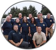 Graduation from Sheriff's 2014 Citizens Academy